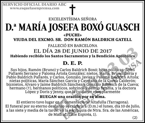 María Josefa Boxó Guasch